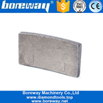 Boreway 2200mm Sintering Diamond Tip Segment For Granite Manufacturer