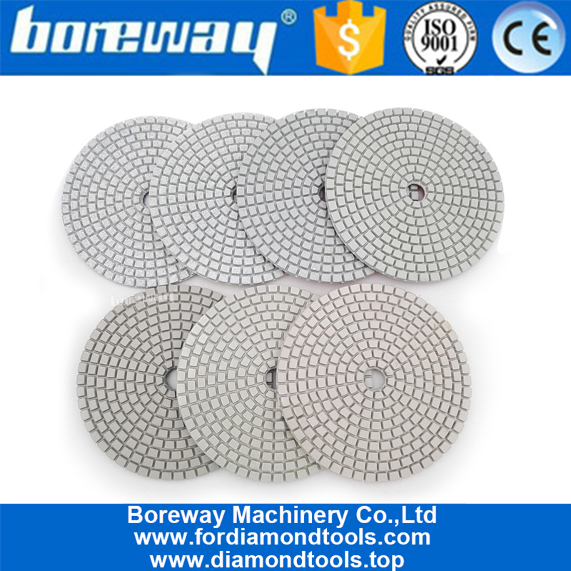 7Pcs/Set Resin Bond Stone diamond polishing pad