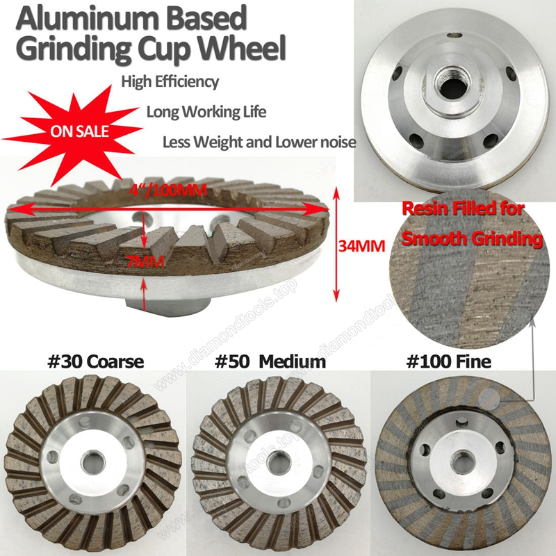 aluminum based grinding cup wheel