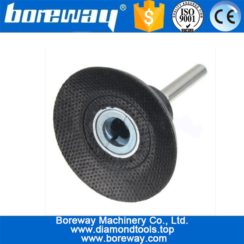 2 inch Backing Pad Holder 1/4inch Shank Lock Rotary Sanding Polishing Disc Holder For Roloc Discs