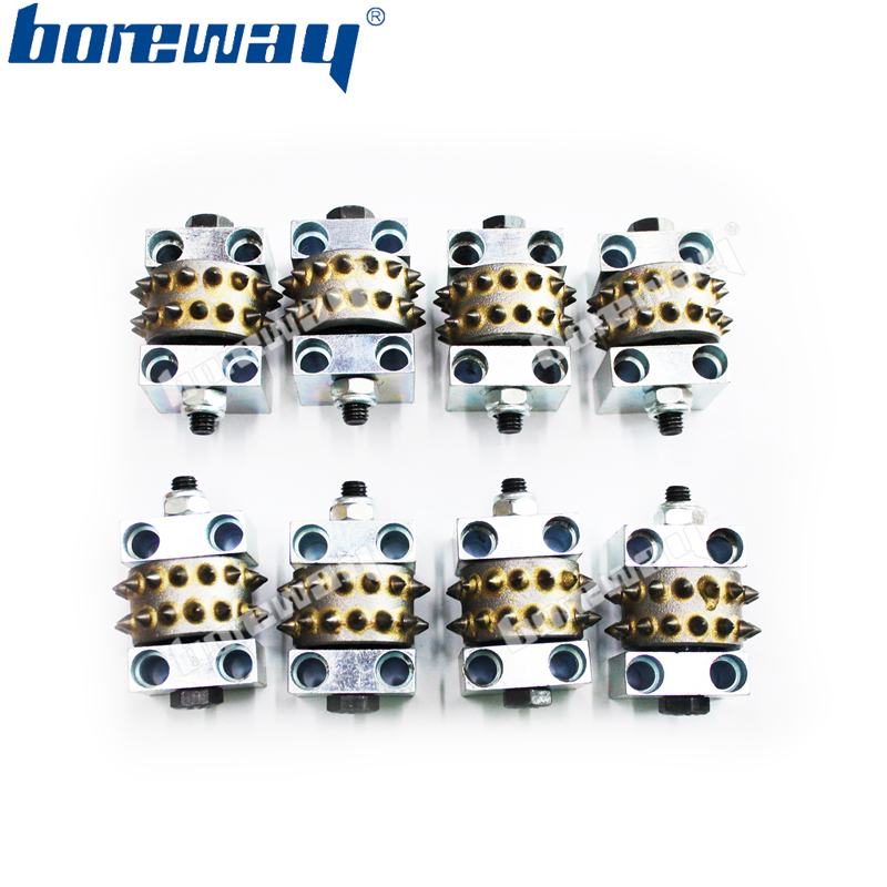 30 Pins Segments Litchi Surface Grinding Rollers