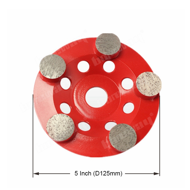 5 Inch Diamond Grinding Plate