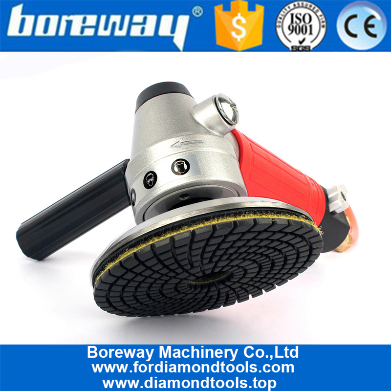 Air Wet Sander Pneumatic Polisher M14 Thread For Polishing Granite Marble Processing