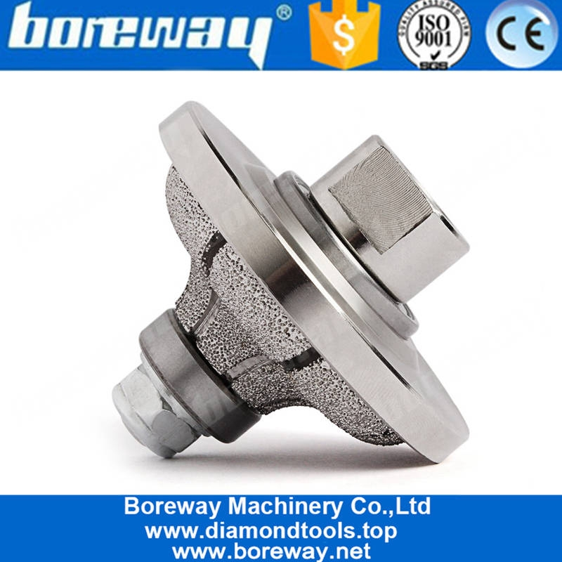 Special-shaped grinding wheel for stone