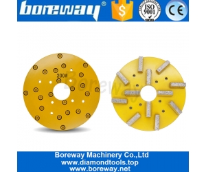 10 Inch 250mm Metal Grinding Disk For Calibration And Grinding On Granite Slab