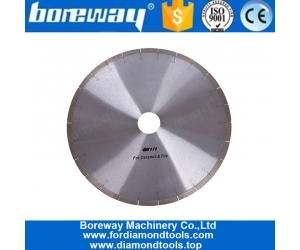 Fish Hook Slot Circular Diamond Ceramic Tiles Saw Blade