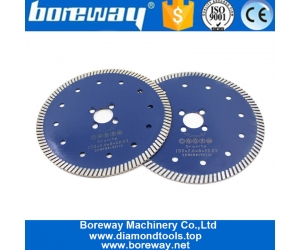 115mm Turbo Smooth Cutting Circular Saw Multi Holes Blade Cutting Wheel Plates for Ceramic Tile Granite Marble Masonry