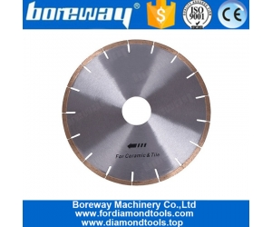 12 Inch Silent Diamond Cutting Tool Circular Saw Blade for Ceramic