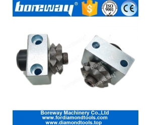 20S Star Shape Alloy Bush Hammer Roller With Support