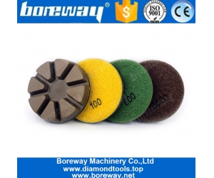3 Inch 75mm Resin Bond Concrete Floor Grinding Discs Abrasive Tools
