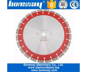358MM Professional Laser welded High Turbo segments Diamond Saw Blade Cutting Reinforced concrete Disc Diamond Wheel