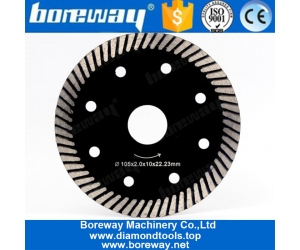 4 Inch Diamond Turbo Cutting Disc Saw Blade For Granite Marble Stone