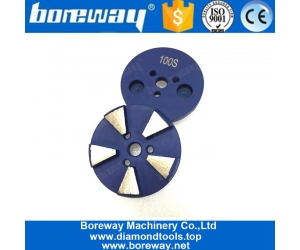 4 Inch Round Diamond Concrete Metal Grinding and Polishing Disc