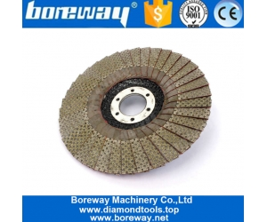 5 Inch 125mm Diamond Flap Sanding Disc For Angle Grinder