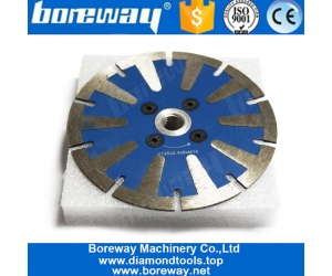 5 Inch Wet Use Circular Saw Blade Granite Cutting Concrete Cutting Disc with T Segment Protective Teeth