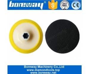 6 Inch Plastic Backer Abrasive Holder For Polisher Angle Grinder
