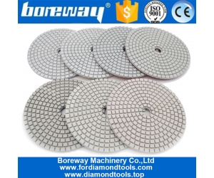 7Pcs Per Set Resin Bond Stone diamond polishing pad factory wholesale price