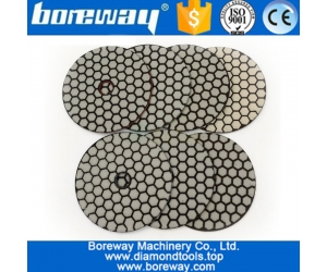 7Pcs/set Dry Flexible Diamond Polishing Pads 4inch 100MM Resin Bond Diamond Flexible Diamond sanding disc