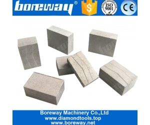 Boreway 1.2m Diamond Blade Segment Tips for Cutting Granite Marble Sandstone Etc