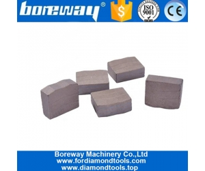 Boreway 1600mm Diamond Granite Segment Block Cutting with 108 Teeth