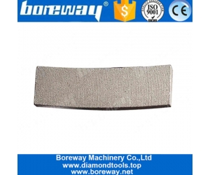 Boreway 24 Inch Diamond Saw Blade Segment Tips for Cutting Sandstone