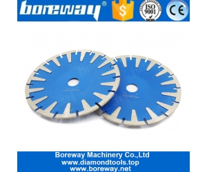 Boreway 7 Inch Diamond Saw Blade T Protection Segment Granite Stone Concrete Cutting Disc Professional Fast Cutting Tool