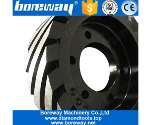 Boreway D190mm D200mm 60mm Thickness Calibration Wheel For Automatic Quartz Slab Grinding And Polishing