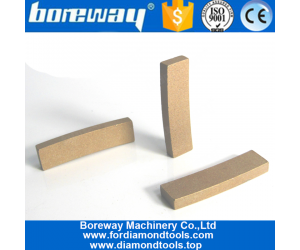 Boreway Diamond segments For cutting marble,Horizontal Cutting Diamond Saw Blades