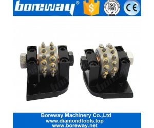 Boreway Lavina Diamond Bush Hammer Rollers Tool For Litchi Surface External Grinding Wholesaler