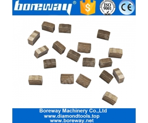 Boreway M Step Diamond Blade Segment for Granite In Indian Market