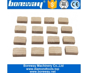 Boreway Multiple Purposes Diamond Tools Of Stone Cutting Blade Segment For Granite Manufacturer