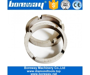 Boreway Sintered Crown Shape Core Drill Segment For Concrete Factory Price