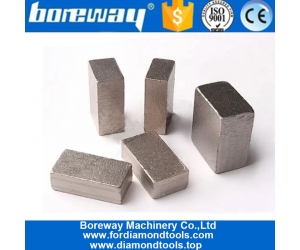 Boreway Supply 1600mm Diamond Segment Marble Block Cutting for Pakistan