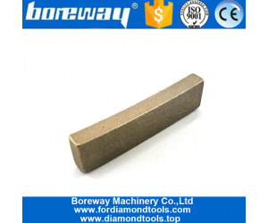 Boreway Supply 350mm High Frequency Weld Edge Cutting Segments for Marble