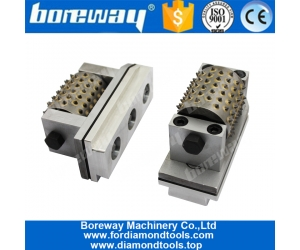 Boreway Tungsten Carbide Fickert Diamond Bush Hammer Roller Tool for Automatic Grinding Machines