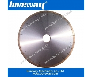 Boreway diamond edge cutting blade and segment for ceramic
