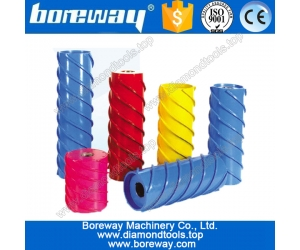 Ceramic diamond calibrating rollers, diamond fixed thickness roller