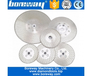 115MM-230MM Electroplated diamond saw disc for granite and marble manufacturer