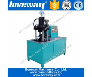 Cold press machine for diamond segment