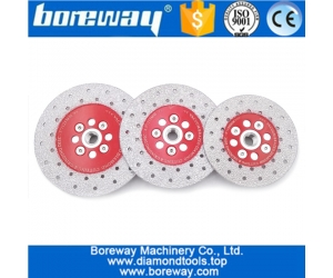 Cutting Shaping Polishing stone diamond grinding cup wheel wholesale double sided vacuum brazed diamond Cutting Grinding Disc