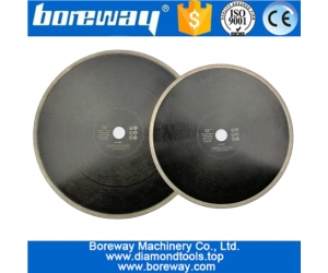 Dia.300mm or 350mm Hot-Pressed Continuous Rim Diamond Saw Blade wholesale Cutting Disc Porcelain Tile Ceramic Marble Saw Blade