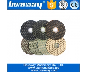 Diamond Dry Use Polishing Pad for Concrete Ceramic Grinding Exports the European and American market