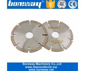 Diamond Key Slot Cutter Wheel 5 Inch 125mm Boreway Small Saw Blade Disc for Stone