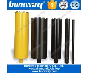 Diamond construction thin wall core drill bit