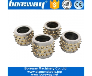 Factory Price 45S Durable Bush Hammer Alloy Grinding Rollers for Hand held Grinders Machine