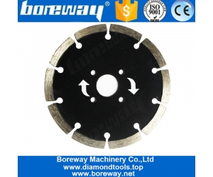 Factory Supply Circular 150mm Diamond Key Holes Stone Cutting Blade For Angle Grinder Machine