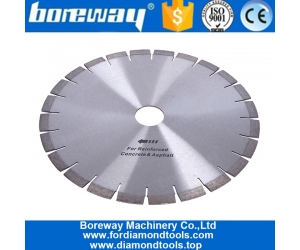 High Frequency Welding Diamond Circular Saw Blades for Concrete Cutting with Stable Quality