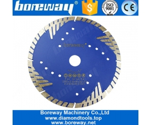 High Quality Diamond Saw Blade Disk Tools With Protect Teeth for Hard Granite