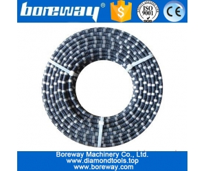 Hot sale portable abrasive diamond wire saw rope and beads
