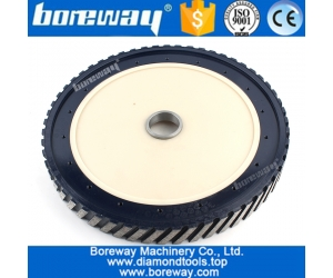 Long life and Smooth Cuts Steel Core Silent Profiling Wheel For Milling Granite